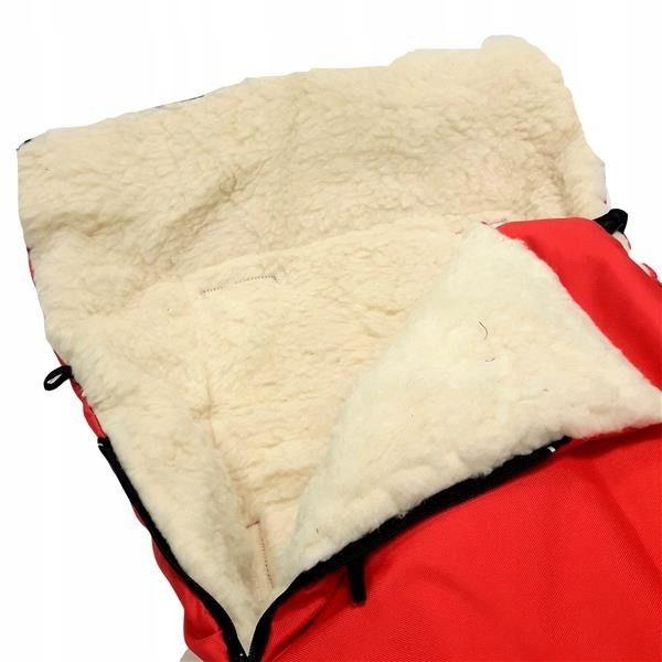 Wełniany śpiworek dla malucha sanki, wózek WITOS