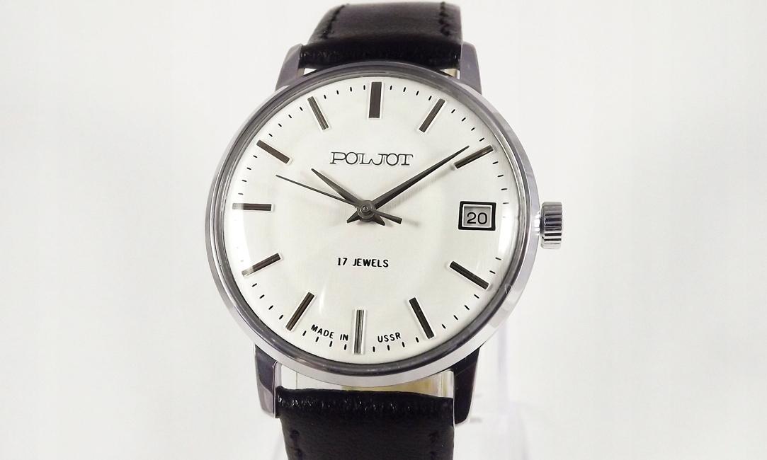 Zegarek Radziecki Poljot 17 Kamieni Gwarancja