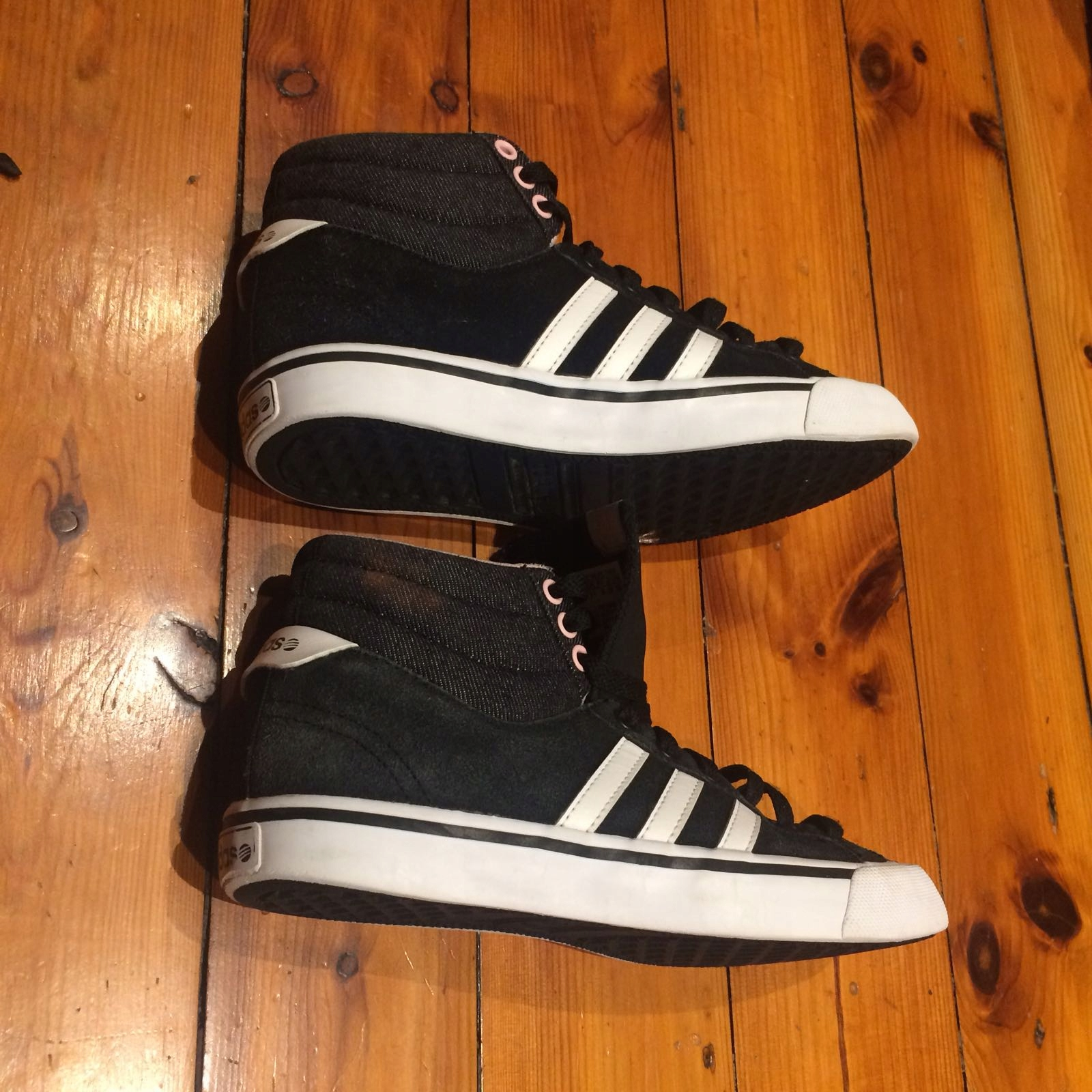 Adidas neo park st midhigh top trainers roz 36 7597090765