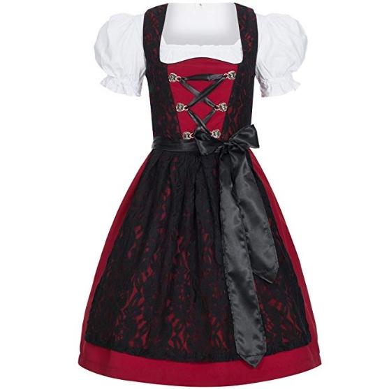 Sukienka ludowa Bawarska Dirndl Gaudi-Leathers 46