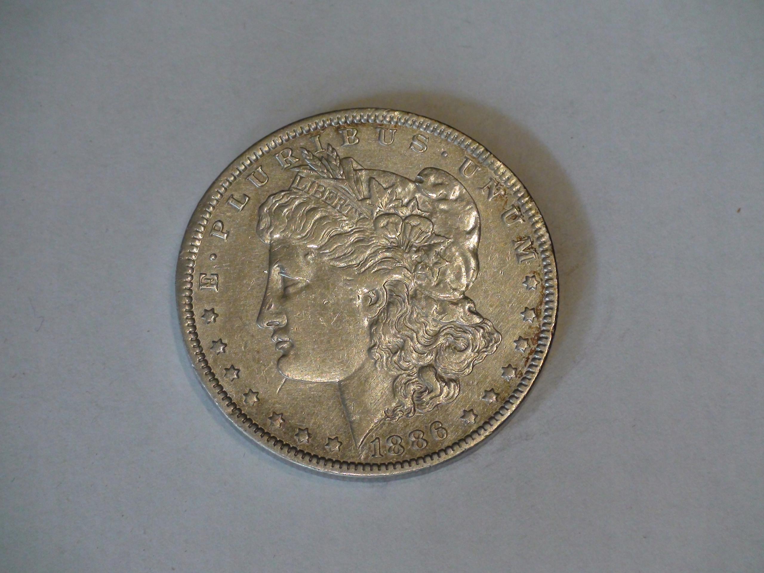 One Dollar Morgan 1886O
