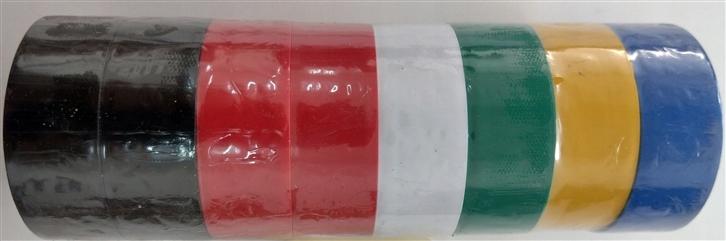 Zestaw taśm izolacyjnych kolorowe 8szt.