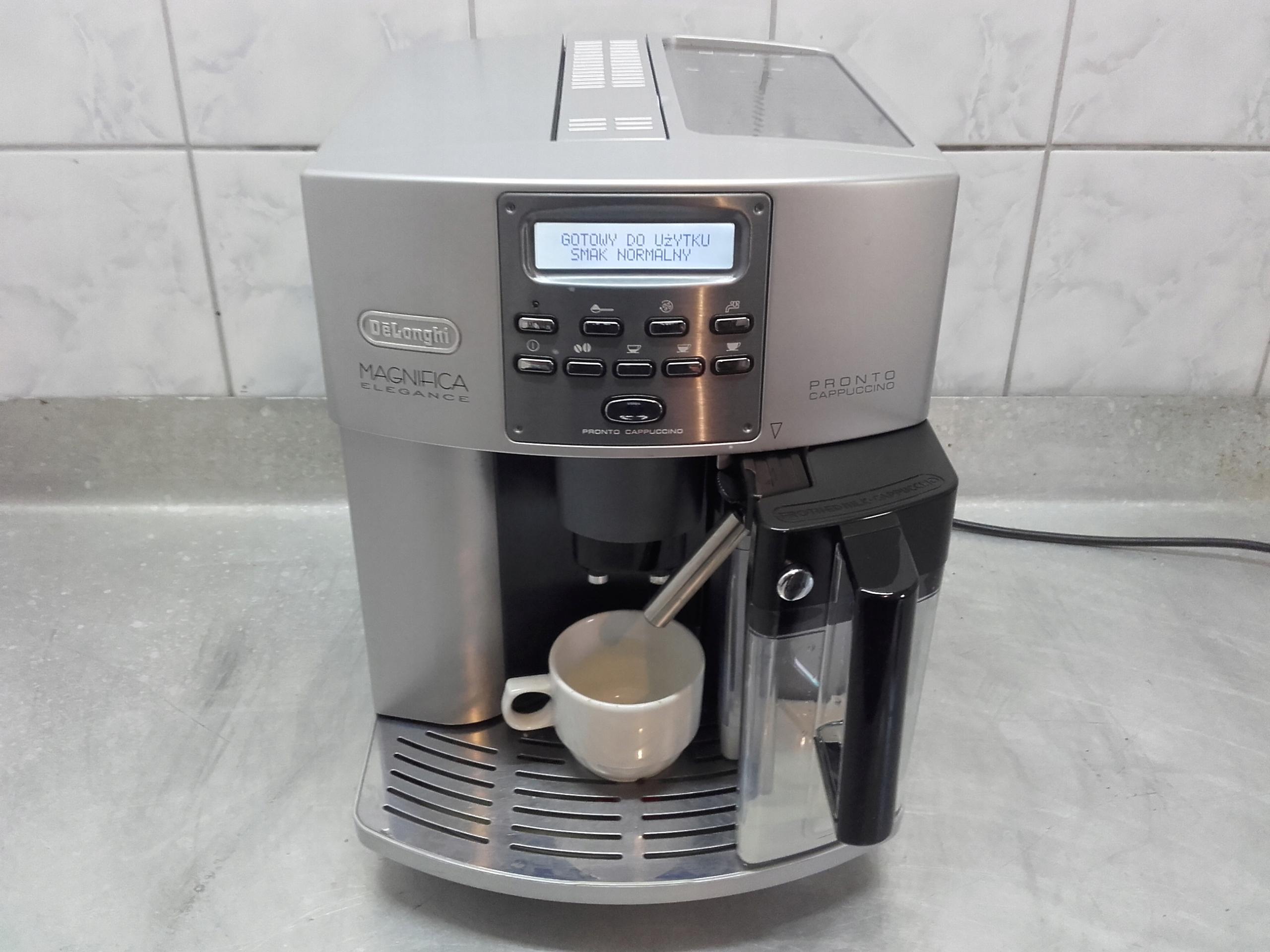 Ekspres delonghi esam 3500 cappuccino .Polski jęz.