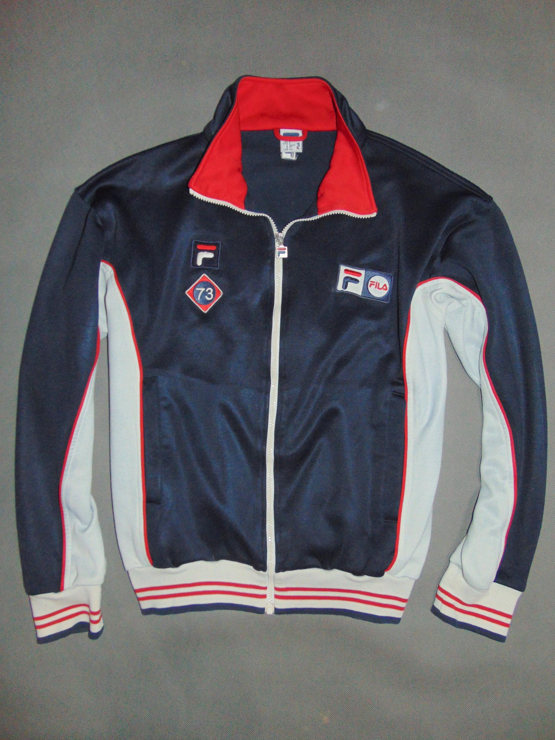 kup dobrze dobra jakość renomowana strona FILA bluza dresowa męska RETRO na zip r L