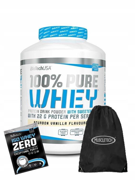 Białko 100% PURE WHEY 2.27kg Czekolada + PREZENTY