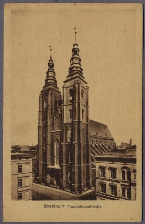 Wrocław lata 20 Kościół Św. MAGDALENY 233r