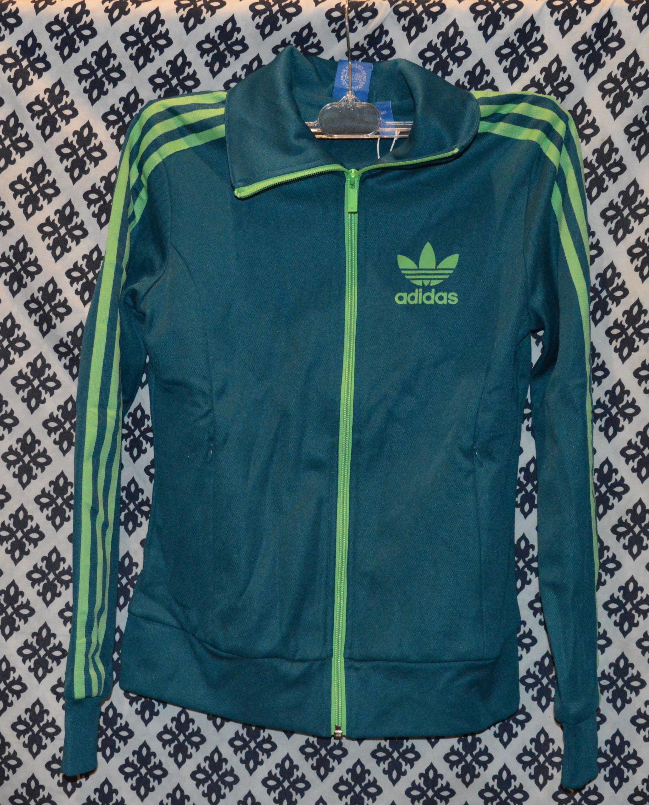 sprzedaż uk najnowsza zniżka najnowsza kolekcja Oryginalna Bluza damska ADIDAS rozpinana - 7127278365 ...