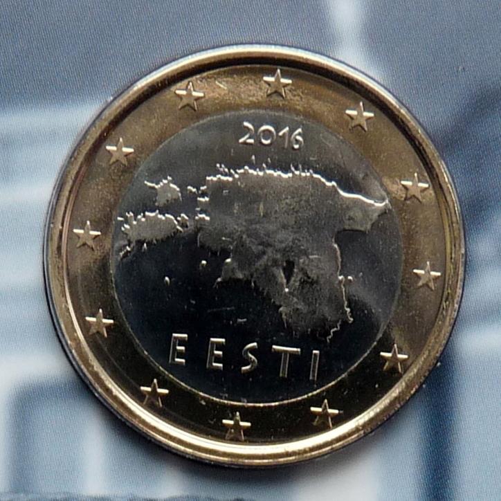 ESTONIA 2016 1 EURO UNC !!!!!RAR!!!!!!!!