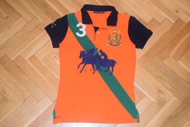 RALPH LAUREN damska koszulka polo ~ M / S