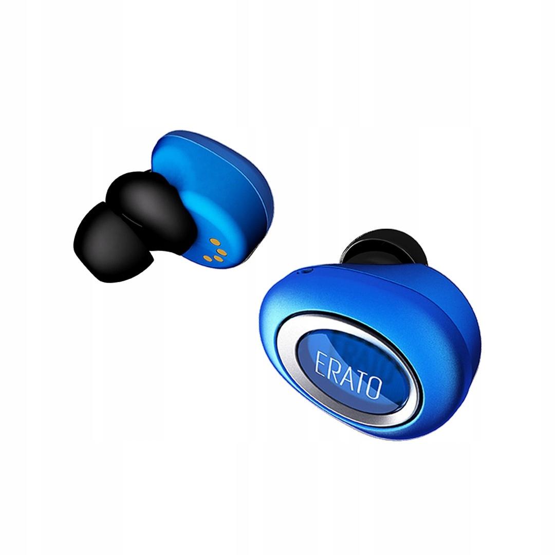 ERATO Słuchawki Bluetooth MUSE 5 niebieskie