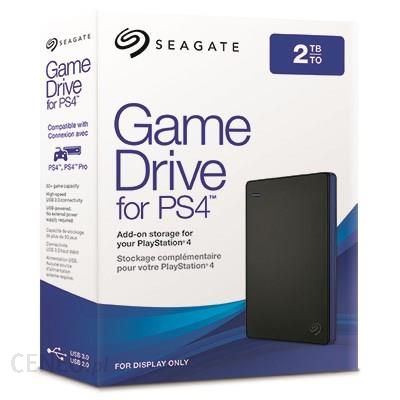 Seagate Game Drive Dysk PS4 2TB OKAZJA
