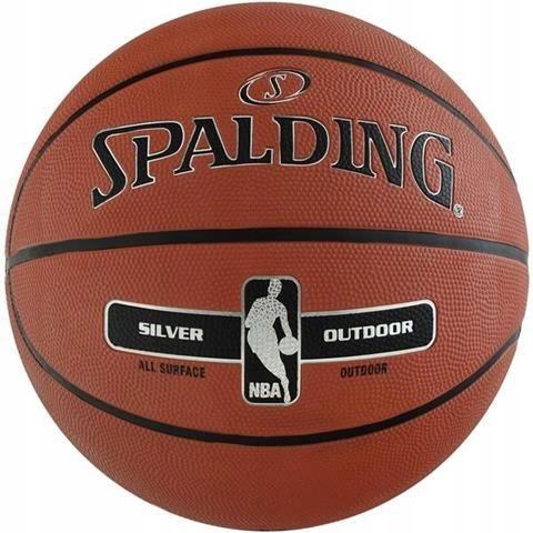 ND05_P4430-5 PIŁKA KOSZYKOWA SPALDING NBA SILVER O