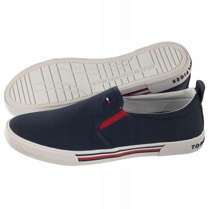 Tenisówki Tommy Hilfiger Slip-On Sneaker Granatowe