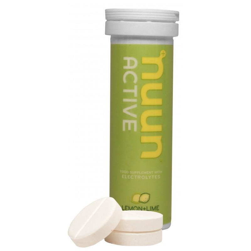 Nuun Active napój elektrolity, minerały Lemon -Lim