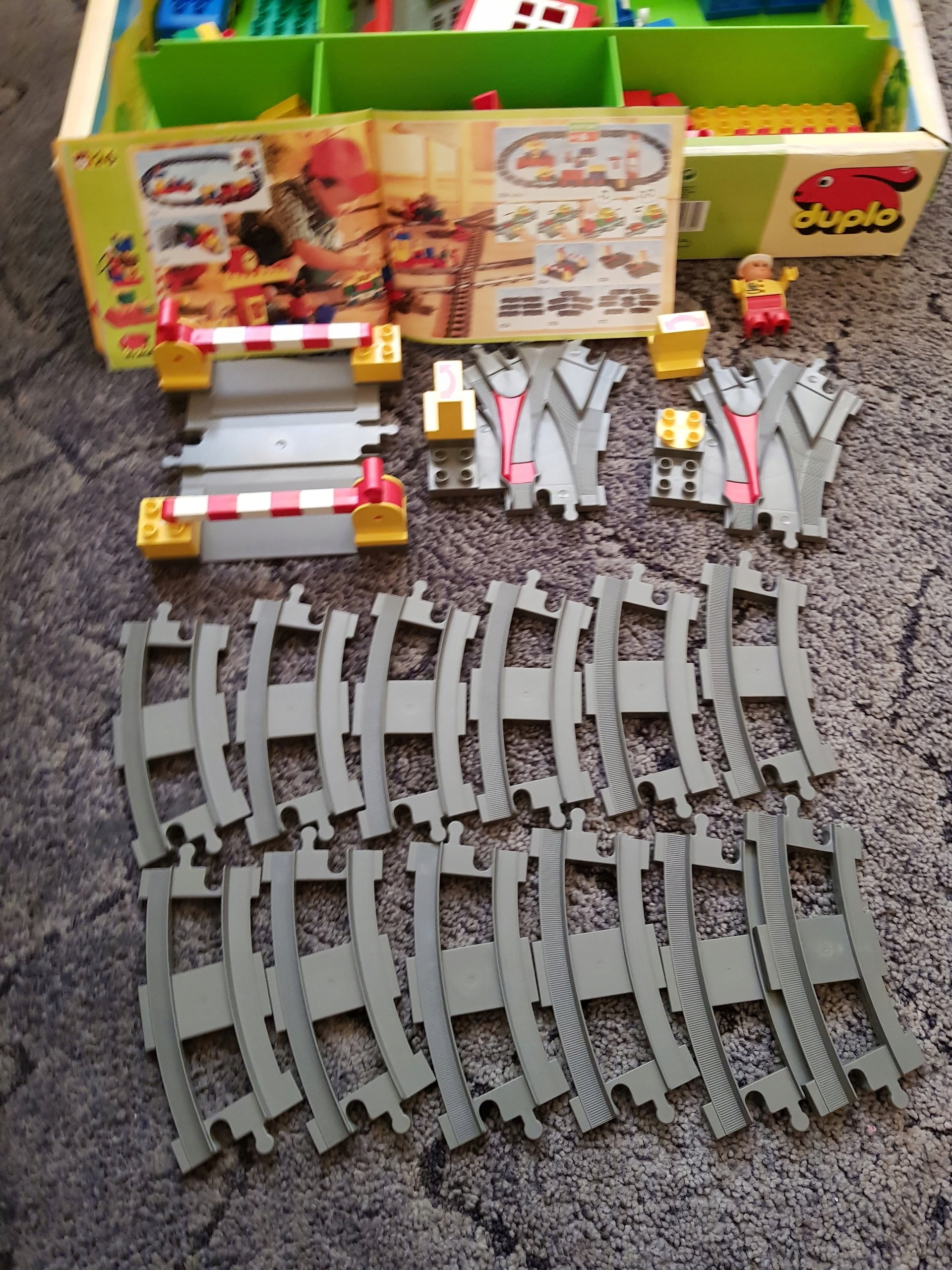 Klocki Lego Duplo Kolejka 2730 Okazja 7527524123 Oficjalne