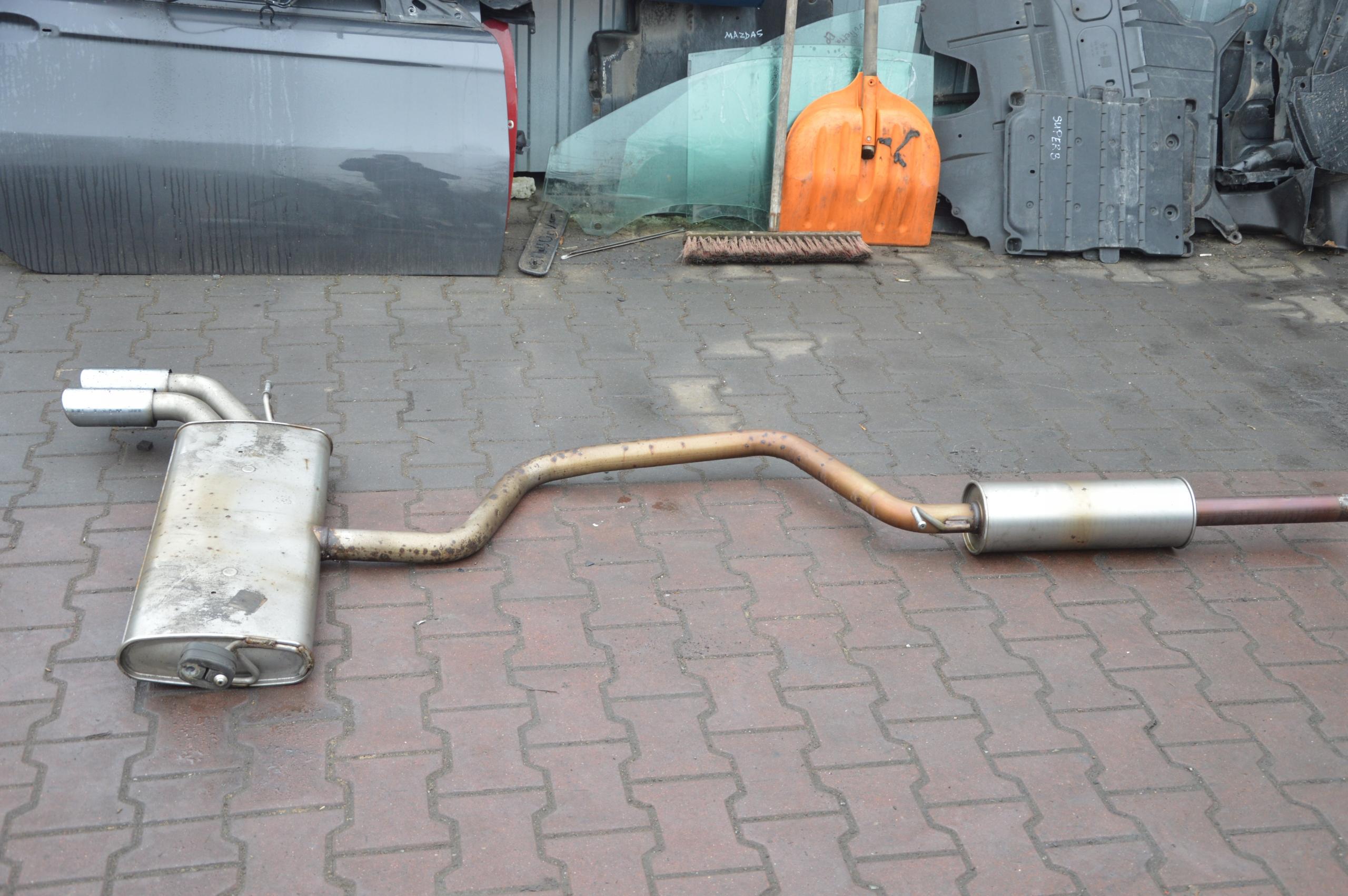 Audi a3 8V 5D wydech 2,0TDi 8V4253181H tłumik