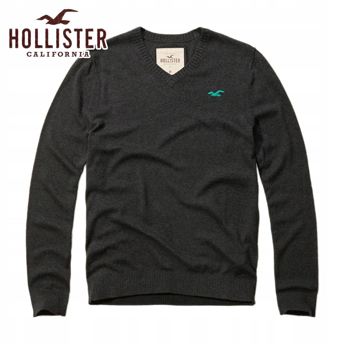 Hollister by Abercrombie Sweter Bawełniany roz. M
