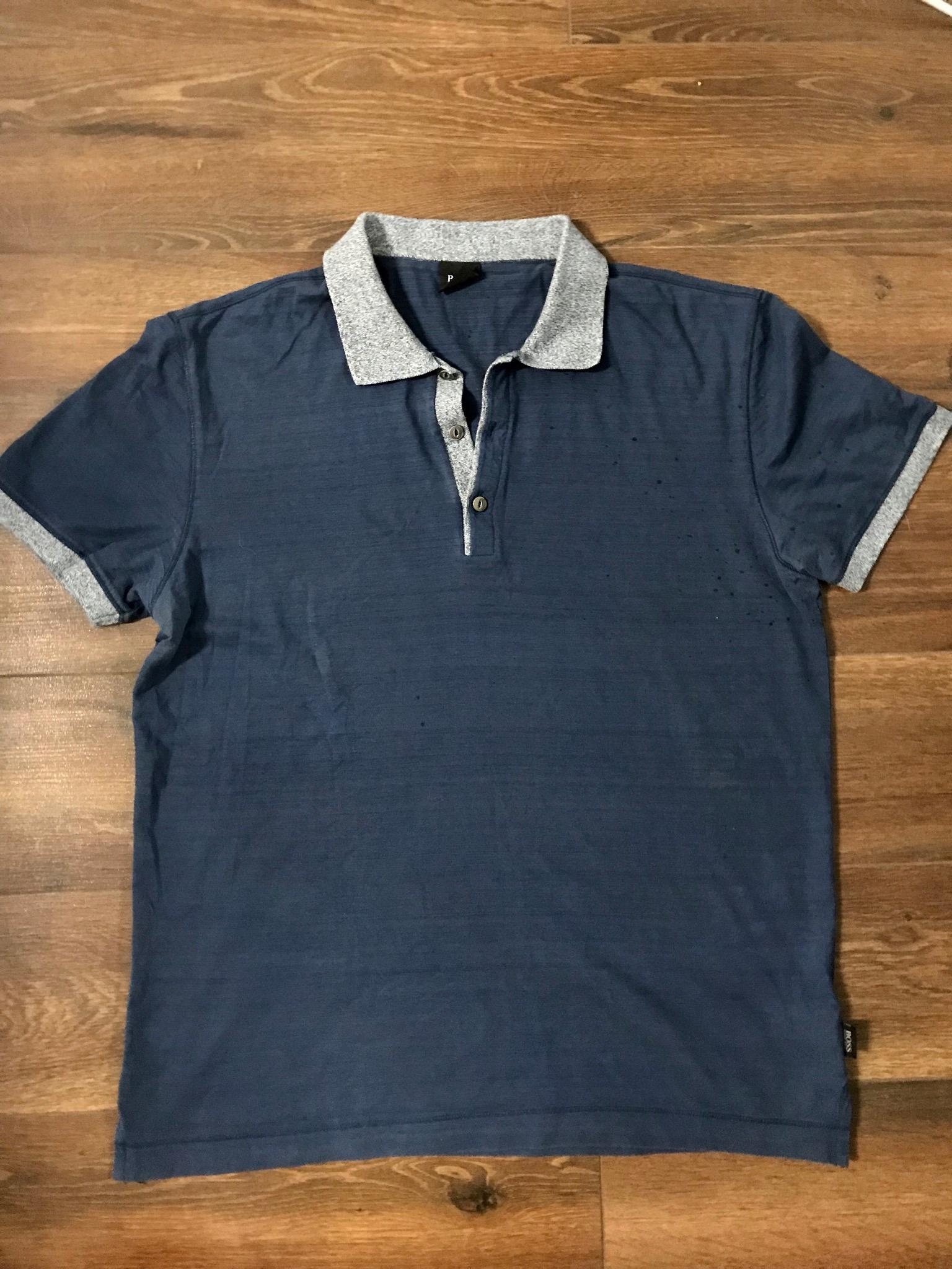 Hugo Boss koszulka polo męska M-L jak nowa