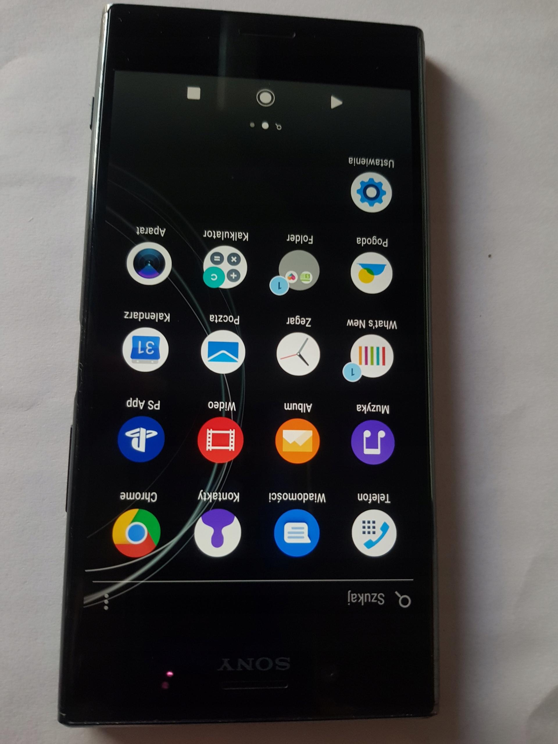 Smartfon Sony Xperia XZ Premium czarny 64GB G8141
