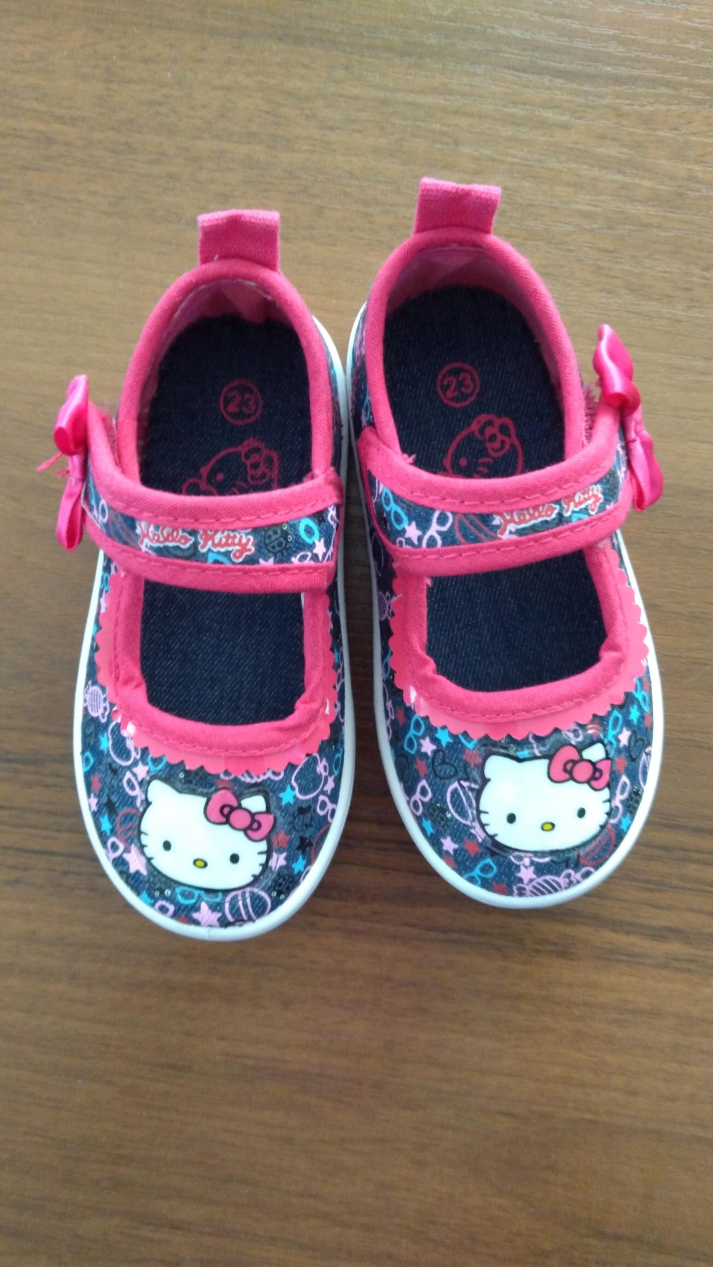 Baleriny Hello Kitty rozmiar 23