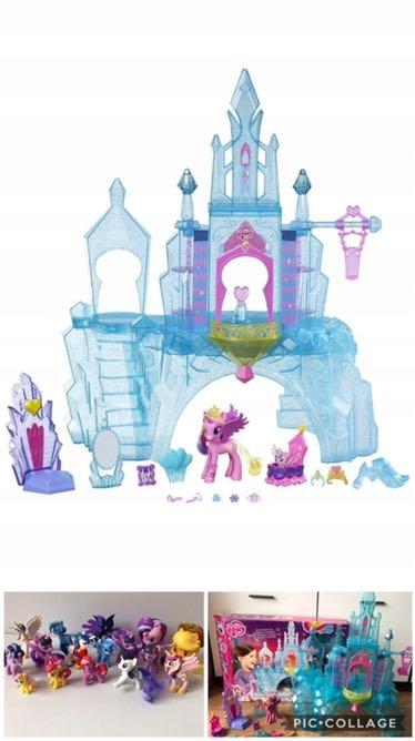 My little pony zamek Cadance j. Nowy + kucyki pony