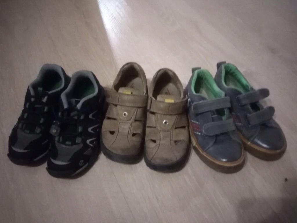 Ecco buty półbuty r. 27 i 28