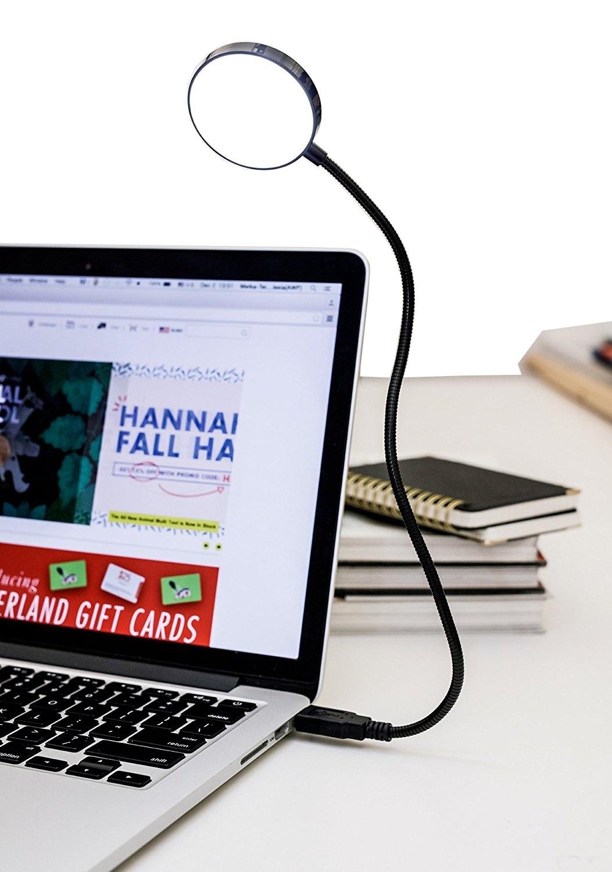 LAMPKA do komputera laptopa USB LED giętkie ramię