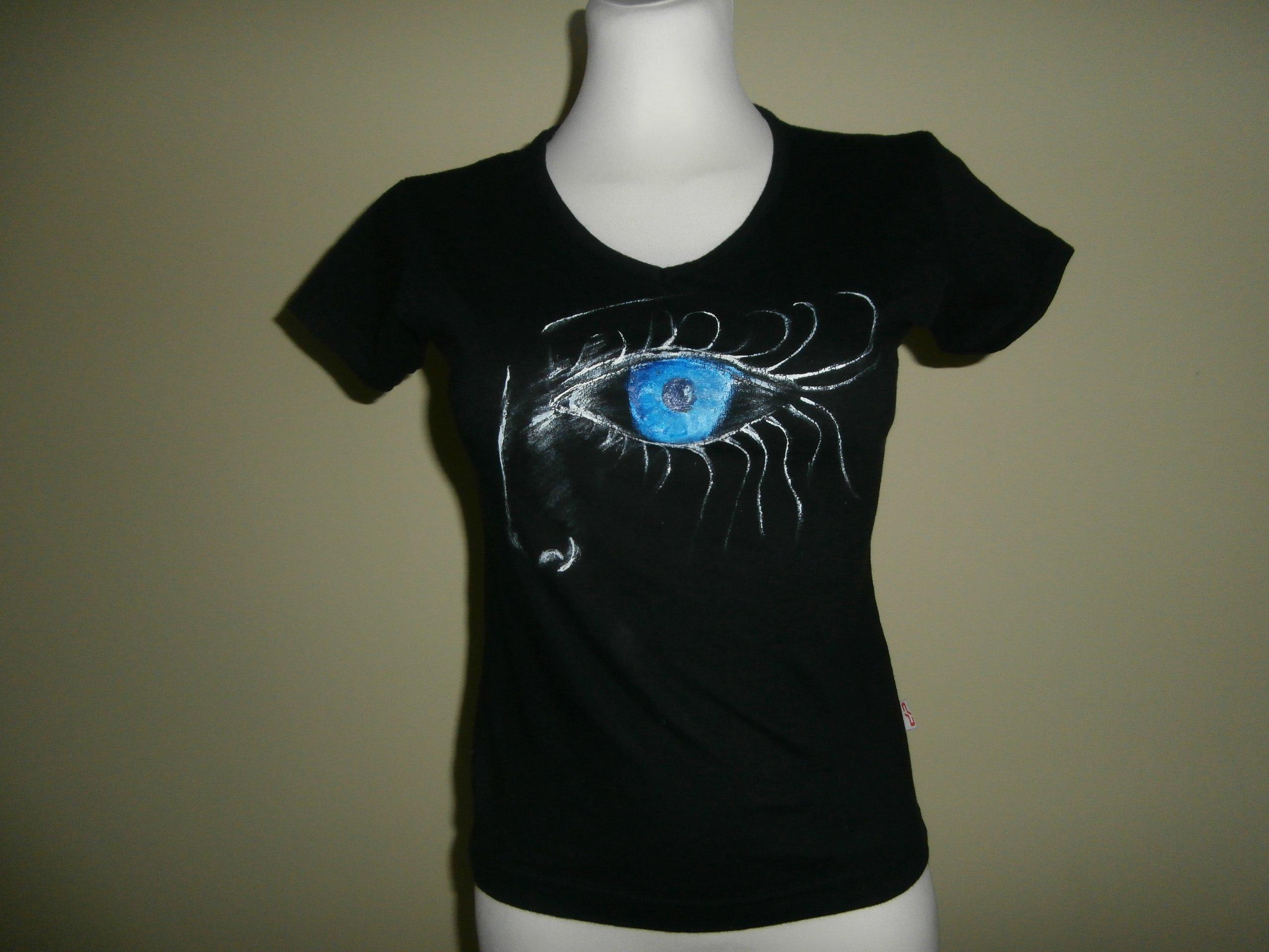 Koszulka ręcznie malowana rozmiar 36 S