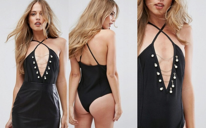 R5G303*MISSGUIDED BODY Z PEREŁKAMI 38 M S13