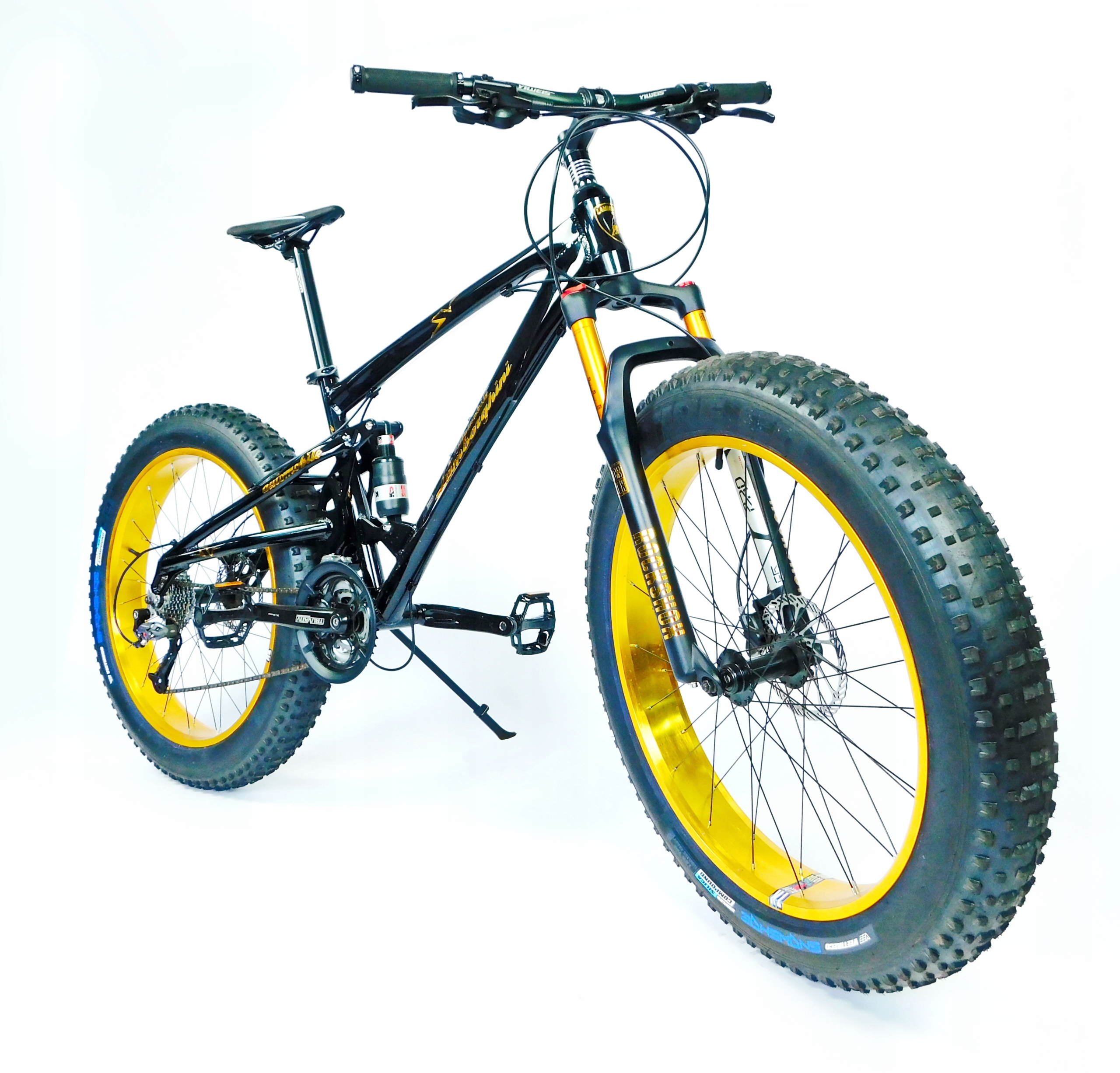 Fat Bike Fatbike GOLD FULL Rower