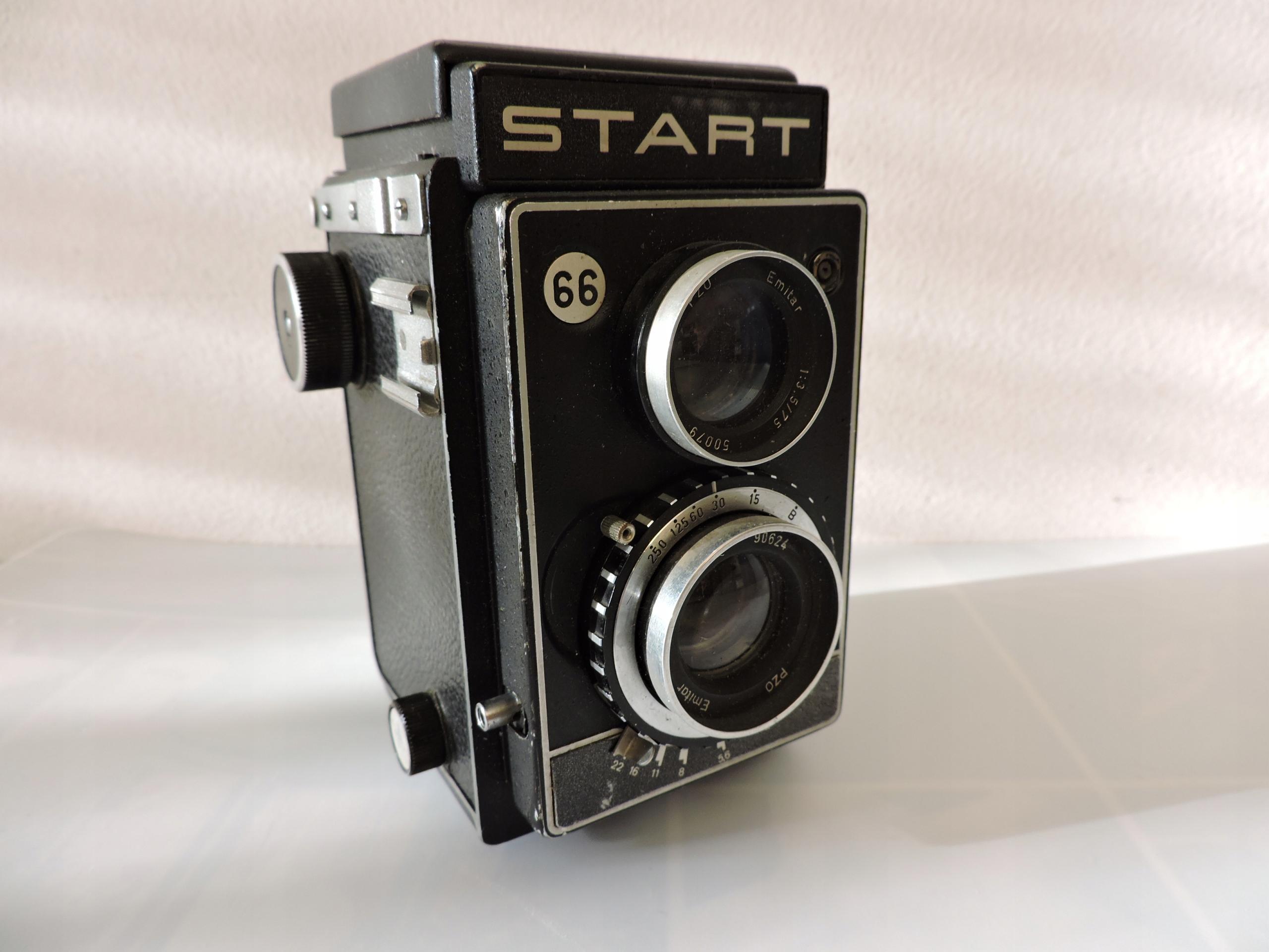 START 66 aparat fotograficzny lustrzanka dwuobiekt
