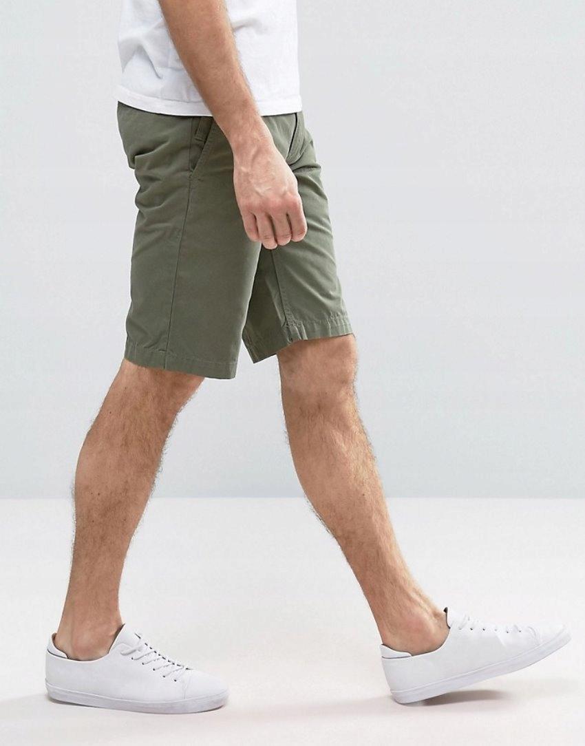 HUGO BOSS_Schino Regular Men's Shorts_J,Nowe_33