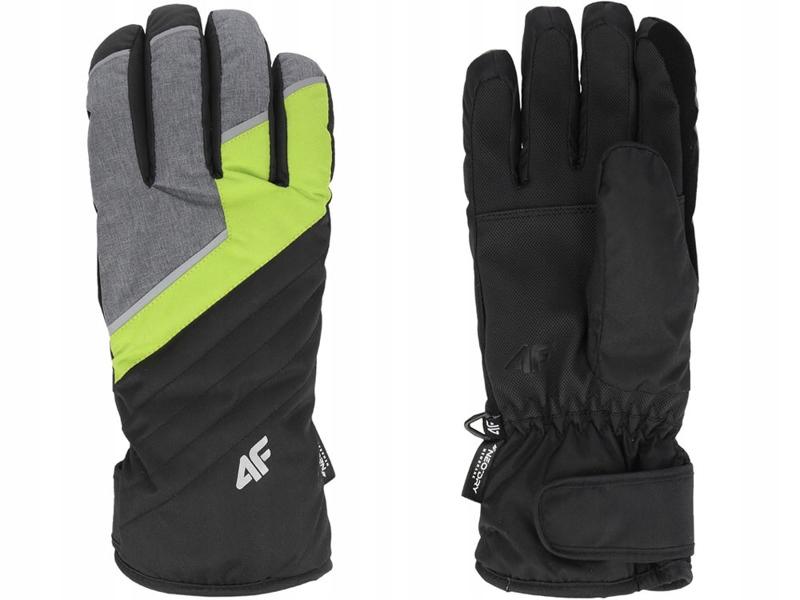 Rękawice narciarskie męskie REM003 4F seledyn L