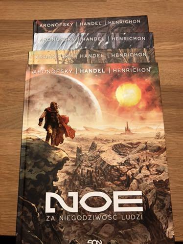 Noe 1-4 Aronofsky Handel Henrichon