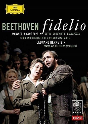 BEETHOVEN Fidelio Janowitz Kollo Popp Bernstein