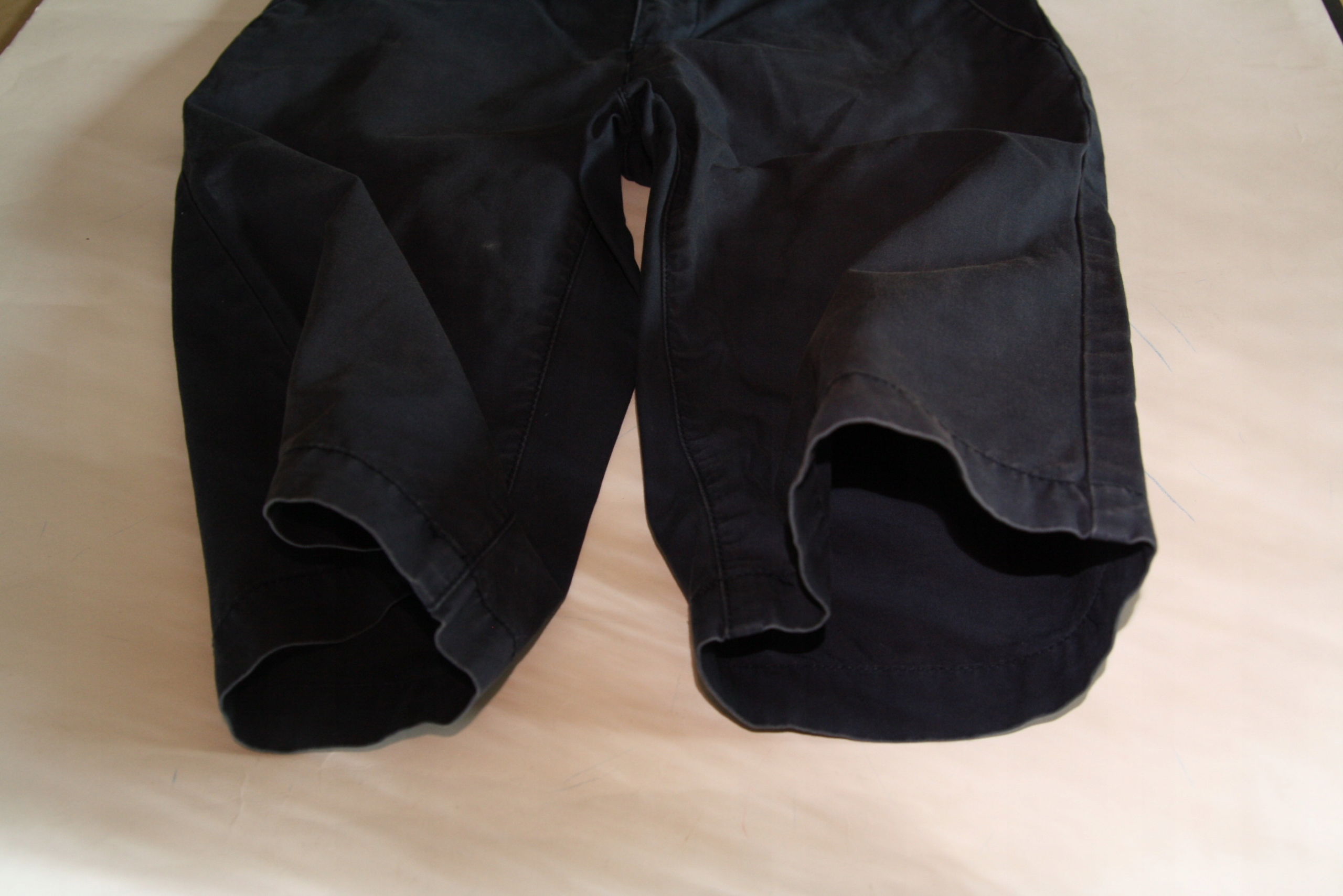 Spodnie granatowe letnie H&M Rozm.152 Stan BDB