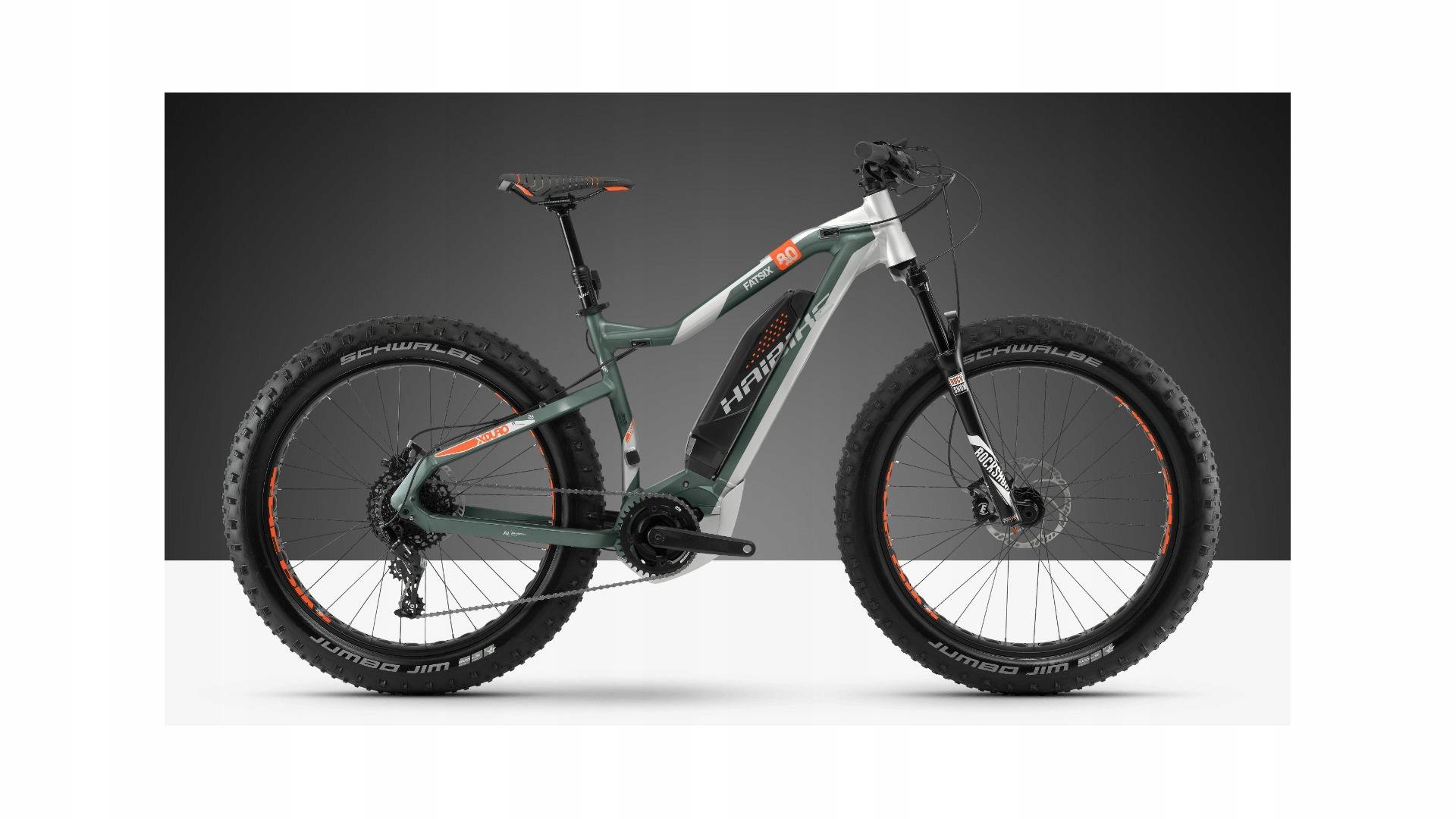 Rower elektryczny fatbike Haibike Fatsix 8.0 45kmh