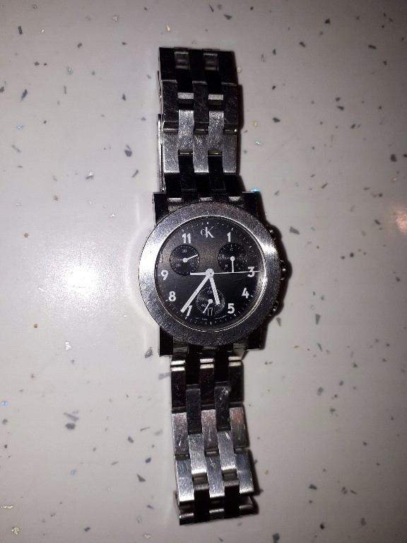 Calvin Klein zegarek Chronograph K8191 guess