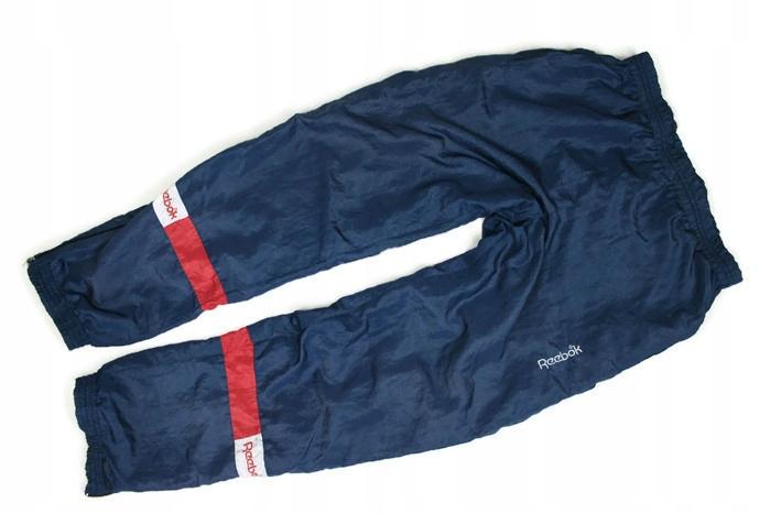 A3348*REEBOK spodnie DRESOWE kresz LATA 80-TE r. L