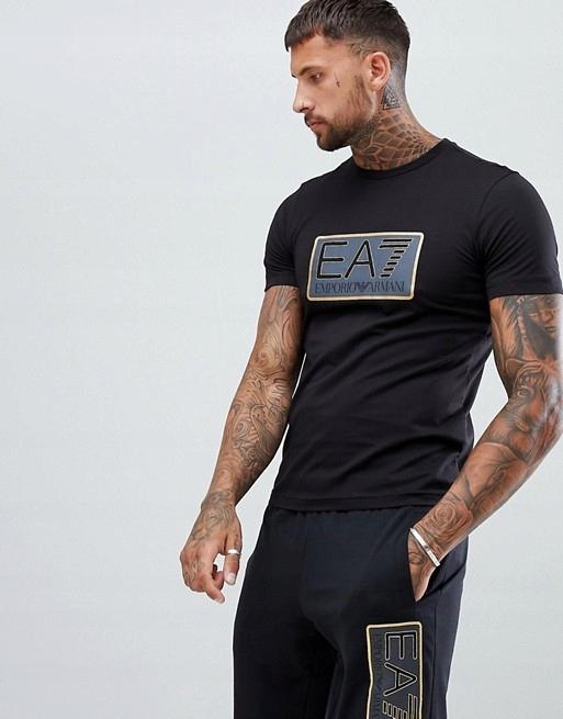 Emporio Armani T-Shirt Rozmiar M Koszulka EA7