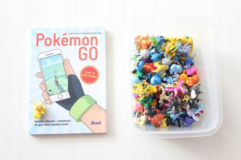 Pokemin GO poradnik + figurki