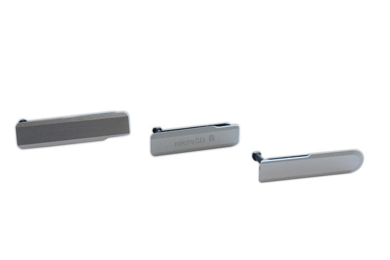 Z1 COMPACT D5503 ZAŚLEPKI USB SD SIM SONY KOMPLET