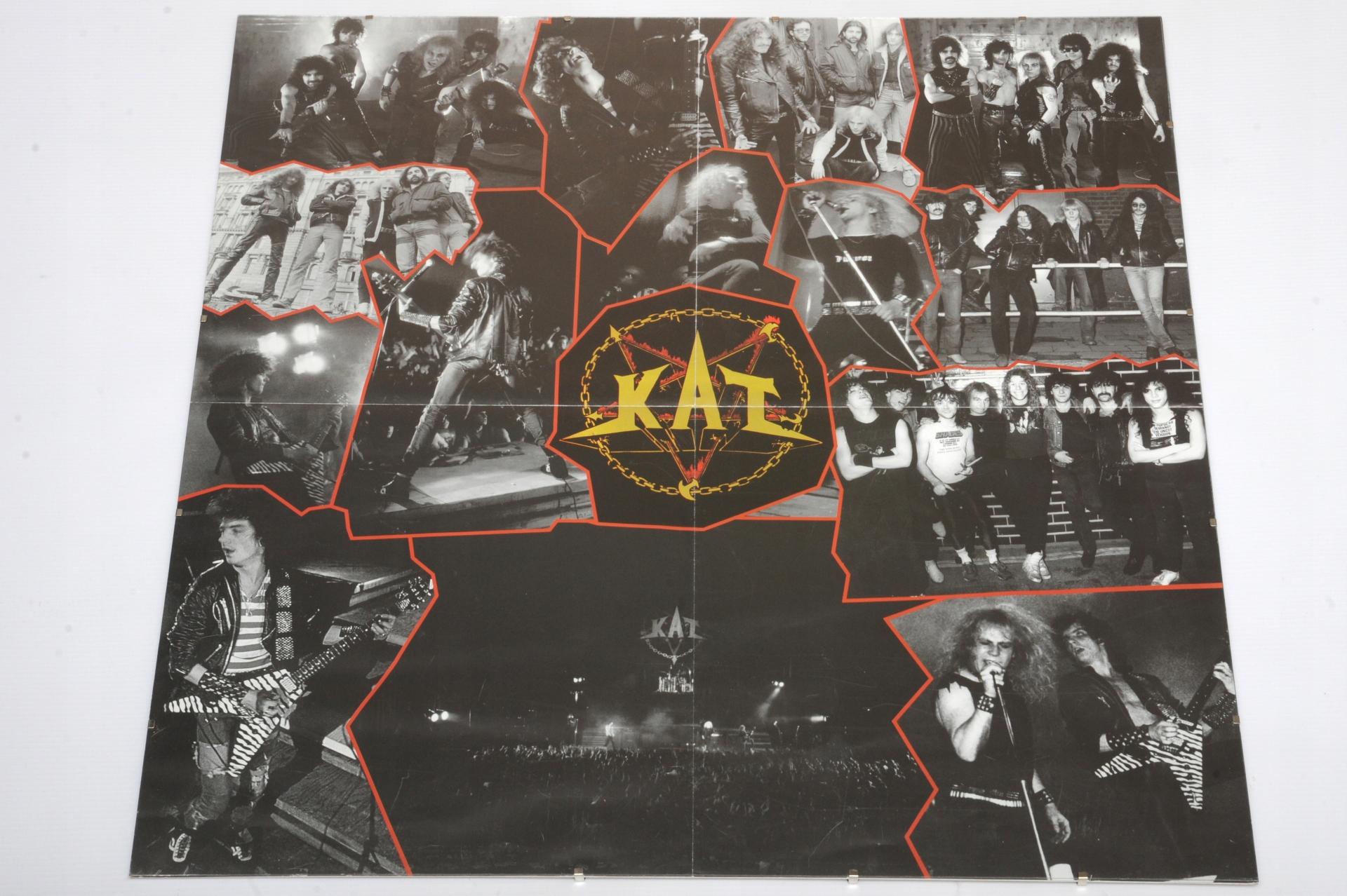 Kat Metallica Duży Plakat Oprawiony Antyrama
