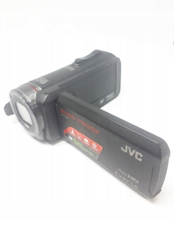 KAMERA JVC GZ-R315BE QUAD PROF EVERIO + KABEL USB