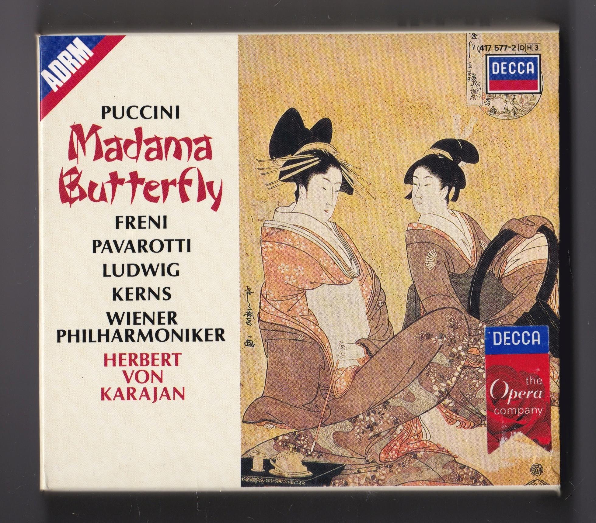 Herbert Von Karajan Puccini Freni Pavarotti Madama