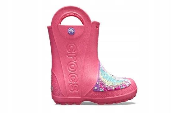 Buty Crocs Fun Lab Rain 205350 PARADISE PINK 30,5