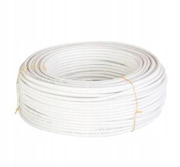 Przewód koncentryczny YWDXpek 75-1,05/4,8 Al biały