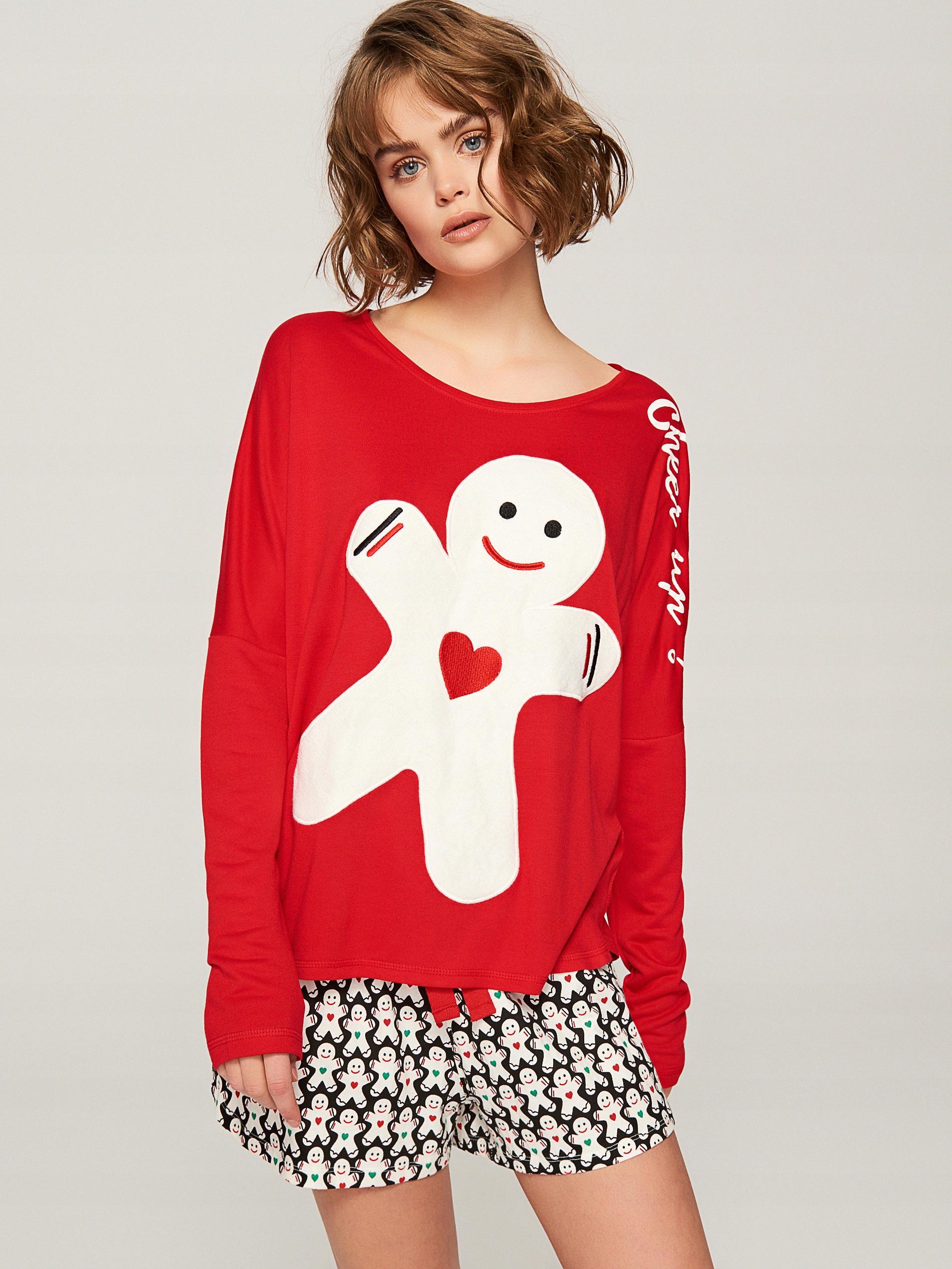 Reserved Nowa super piżama Bałwanki L