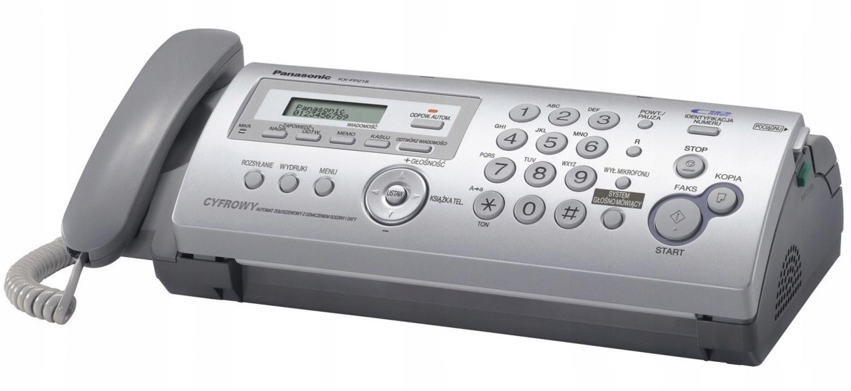 TELEFAKS PANASONIC KX-FP 218 NA ZWYKŁY PAPIER