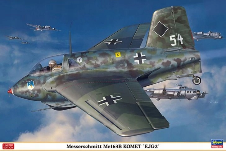 Hasegawa 1:32 Messerschmitt Me-163B Komet EJG-2